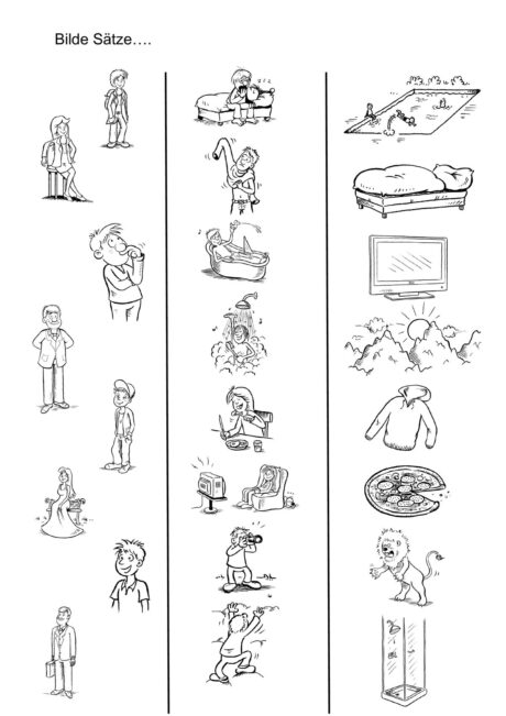 SPO Sätze bildeb