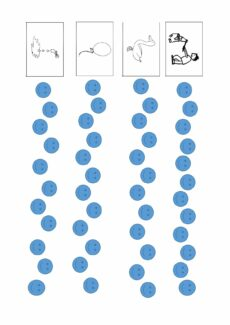 Würfelspiel mit POPT-Lauten für Kontaktassimilation oder Vorverlagerung der Velaren