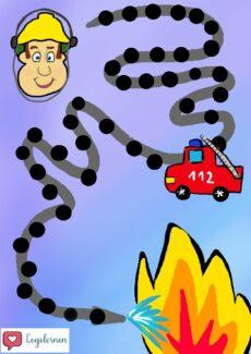 Feuerwehrmann Sam Spielplan