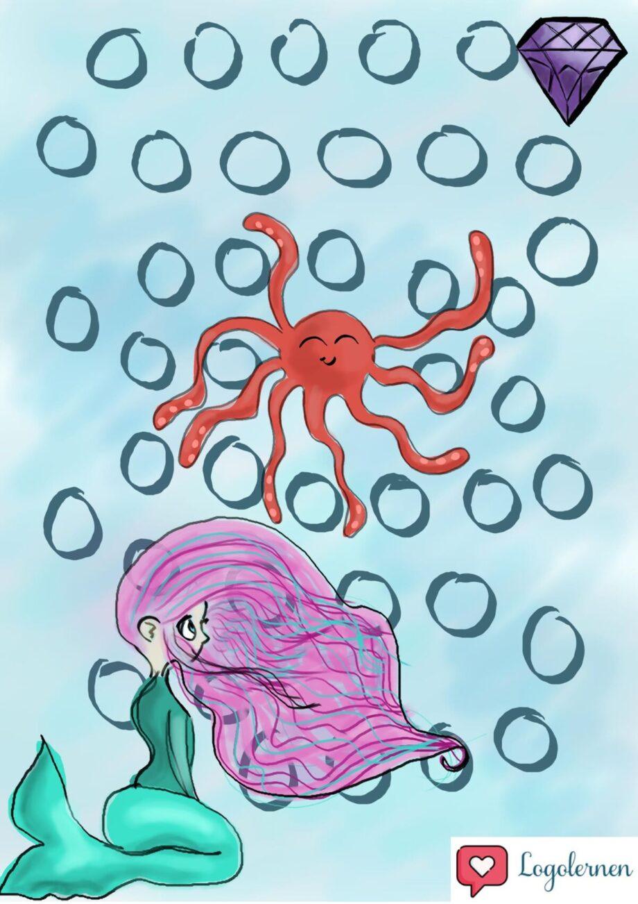 Meerjungfrau Spielplan