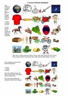 T-Auslaut-Wörter versenken