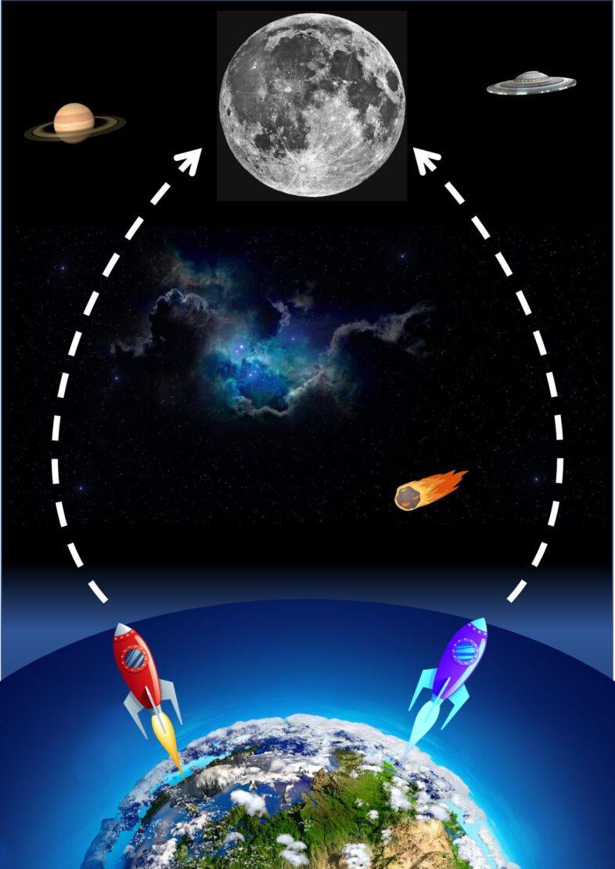 Rennen zum Mond