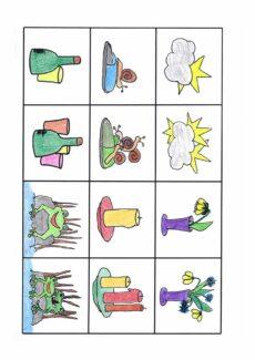 Singular Plural mit Präpositionen