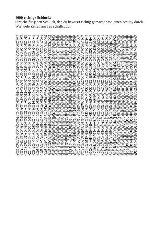 1000 richtige Schlucke