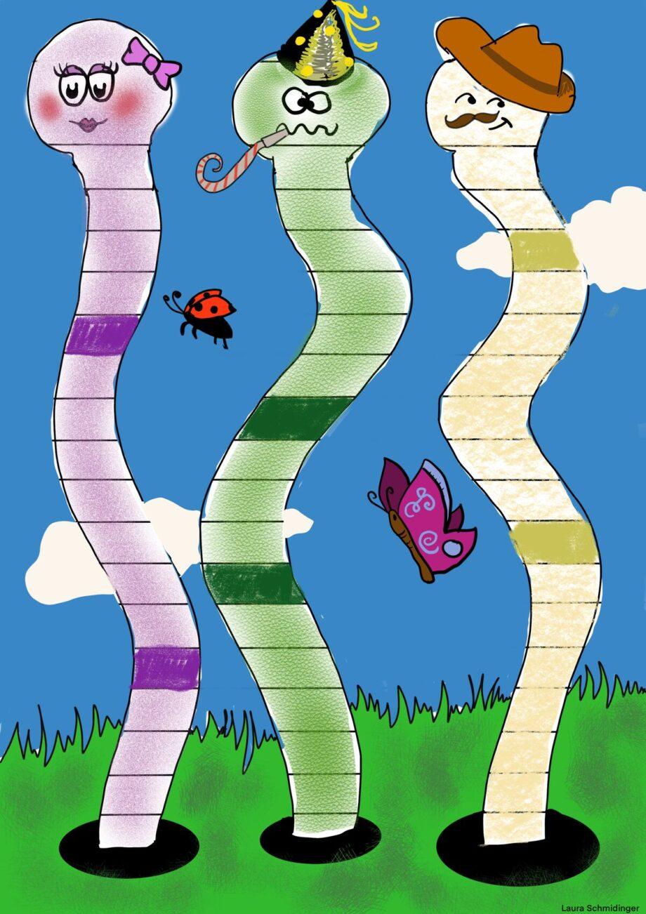 Spielplan Würmer