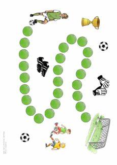 Spielfeld Fußball