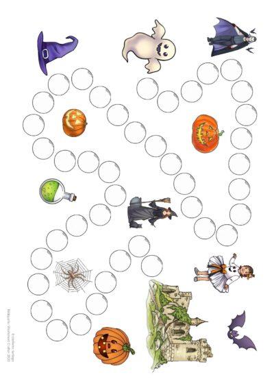 Spielfeld Halloween