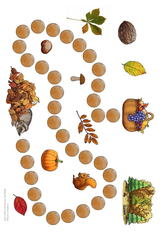 Spielfeld Herbst