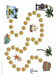 Spielfeld Pirat