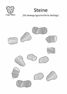 Steine Bewegungsorientiert