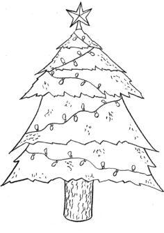 Tannenbaum schmücken (ansaugen)