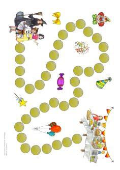 Spielfeld Fasching/Karneval
