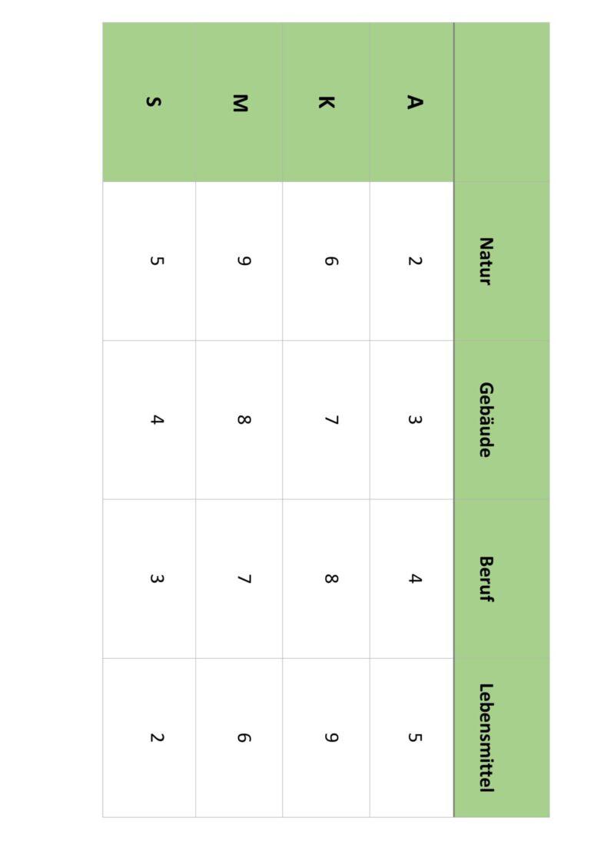 Bingo Wortfindung