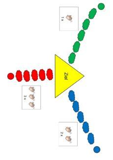 Spielfeld für Silbenklatschen