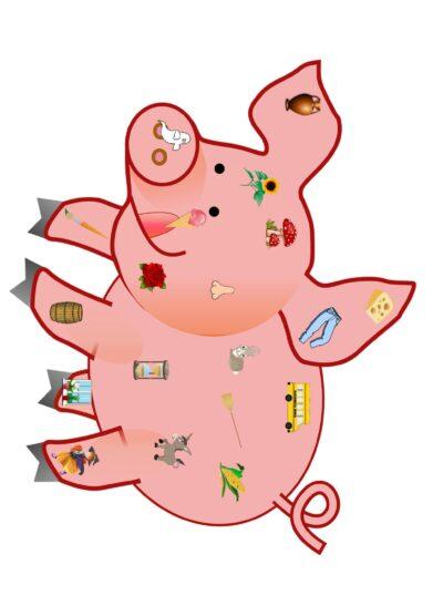 Schwein – Wortebene Sigmatismus