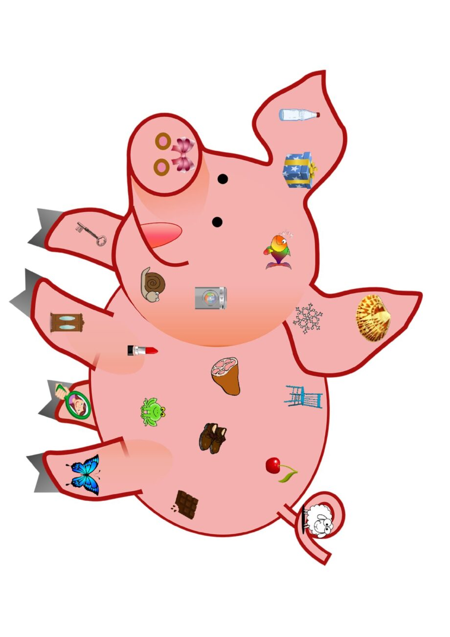 Schwein – Wortebene Schetismus