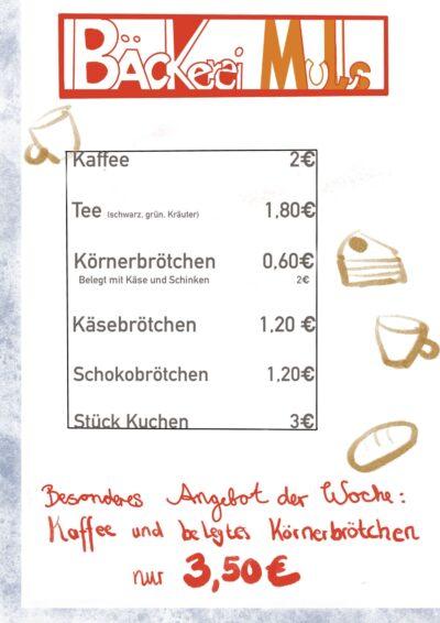 """Alltagsorientiert """"Bäcker"""""""