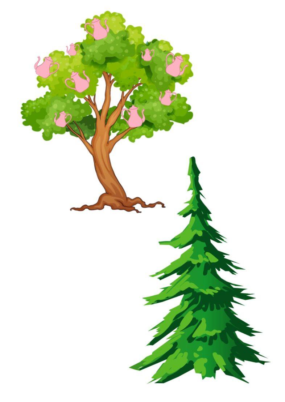 Kannenbaum und Tannenbaum im Wunderland