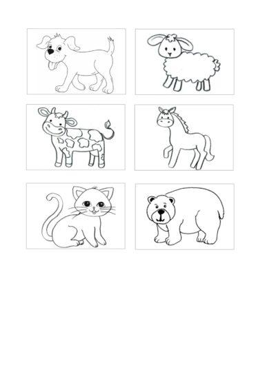 Bildkarten Tiere