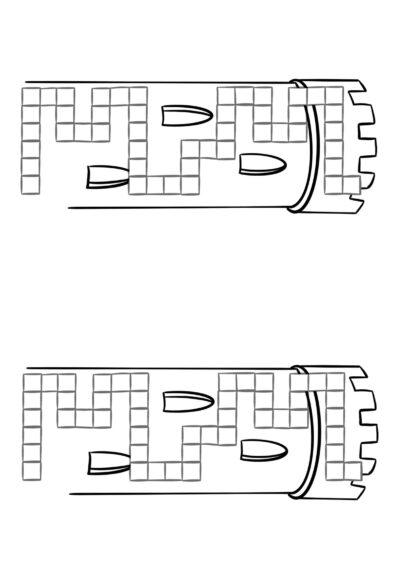 Spielfeld Burg