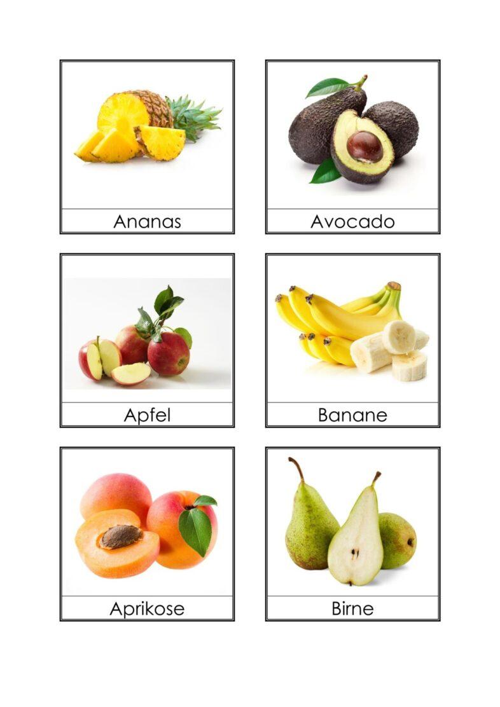 Bildkarten Obst (3)